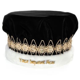 Custom Embroidered Regal Crown