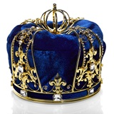 Reign Supreme Men's Crown - Blue