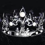 Fleur De Lis Crown With Pearls