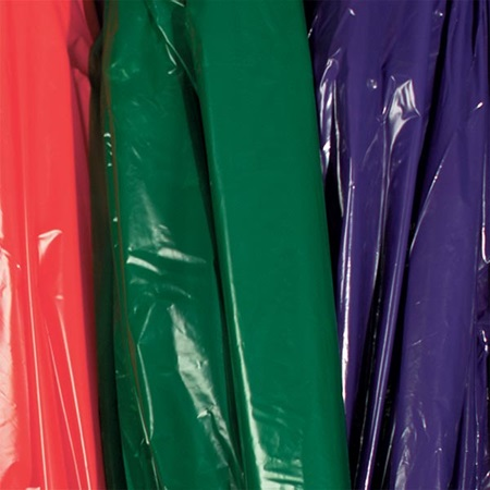 Solid-Color Flame Retardant Poly Roll - 12 feet x 100 feet