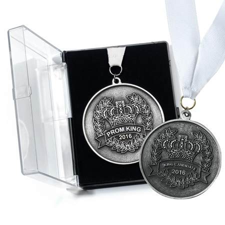 Prom King and Candidates Medallion Set