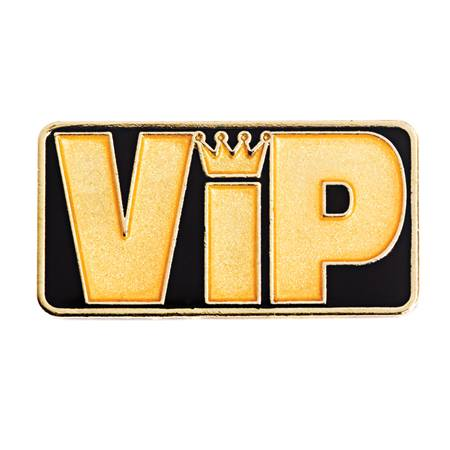 Prom Pin - VIP Gold