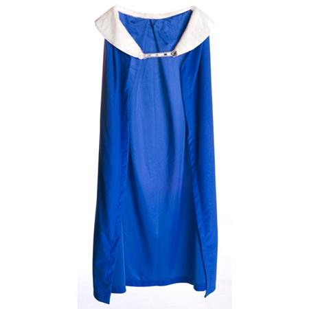 Royal Robe – Blue Robe with White Collar, 72 in. long