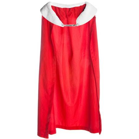 Royal Robe – Red Robe with White Collar, 72 in. long