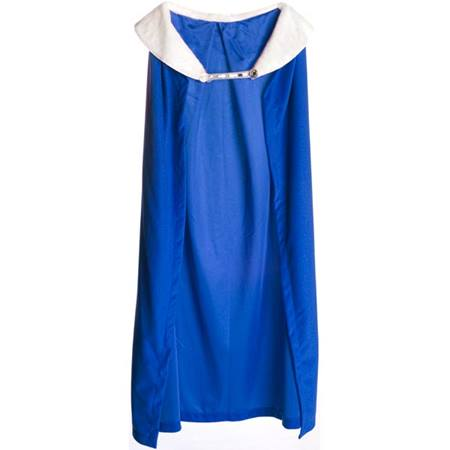 Royal Robe – Blue Robe with White Collar, 49 in. long
