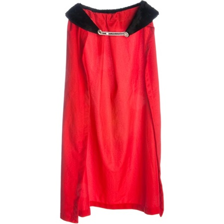 Royal Robe – Red Robe with Black Collar, 49 in. long