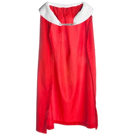 Royal Robe – Red Robe with White Collar, 49 in. long