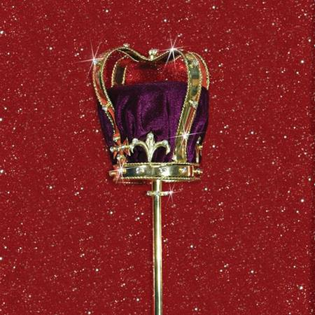 Gold Crown Scepter - 21 in.