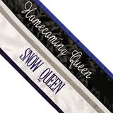Custom Color Edge Royalty Sash – Two Colors