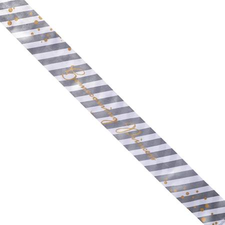 Diagonal Stripes Full-color Sash