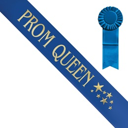 Prom Queen Sash With Stars