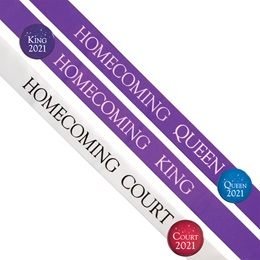Homecoming Sash Set - 10 pcs.