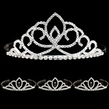 Prom Tiara Set - Sharona Queen and Chelsey Court