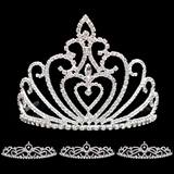 Prom Tiara Set - Celia Queen and Ruby Court