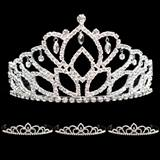 Prom Tiara Set - Mirabella Queen and Sissy Court