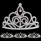 Prom Tiara Set - Sutton Queen and Armani Court
