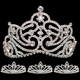 Prom Tiara Set - Jenna Queen and Charlize Court