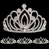 Prom Tiara Set - Zahara Queen and Armani Court
