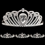 Prom Tiara Set - Annalise Queen and Arilda Court