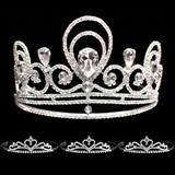 Prom Tiara Set - Tiffany Queen & Alisa Court