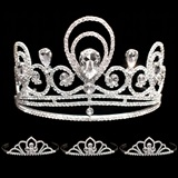 Prom Tiara Set - Tiffany Queen & Kayla Court
