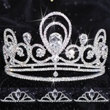 Prom Tiara Set - Tiffany Queen & Vicky Court