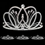 Prom Tiara Set - Selene Queen & Alisa Court