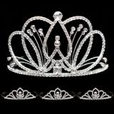 Prom Tiara Set - Selene Queen & Kayla Court