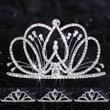 Prom Tiara Set - Selene Queen & Vicky Court