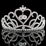Ruth Tiara with Charm