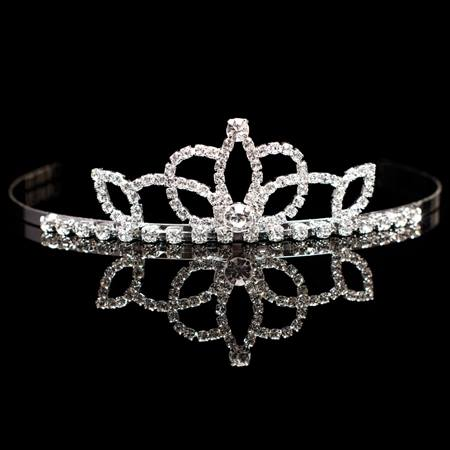 Lady-in-Waiting Tiara - 1 1/2 inch