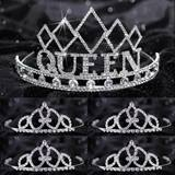 Prom Tiara Set - Empress Queen and Francine Court