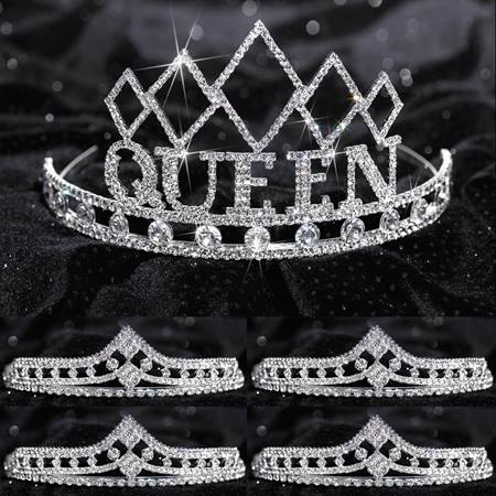 Prom Tiara Set - Empress Queen and Cleo Court