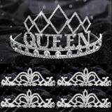Prom Tiara Set - Empress Queen and Arilda Court