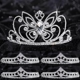 Prom Tiara Set - Monarch Queen and Cleo Court