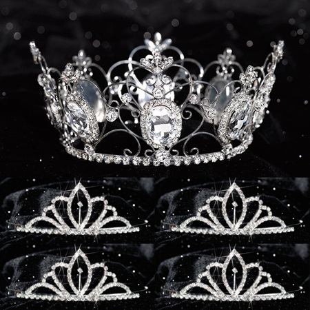 Prom Tiara Set - Kimberli Queen and Chelsey Court