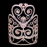 Rose Metal Rose Marie Grand Tiara