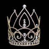 Gold Lexie Grand Tiara