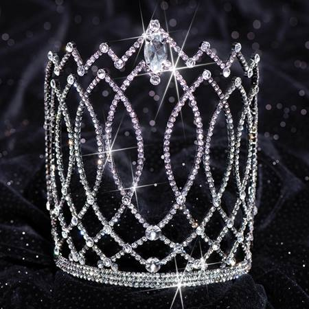 Black Naydia Grand Tiara