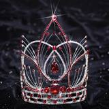 Red Stone Arianna Grand Tiara