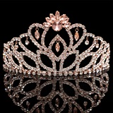 Rose Gold Cassandra Tiara