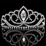 Black Metal Valerie Tiara
