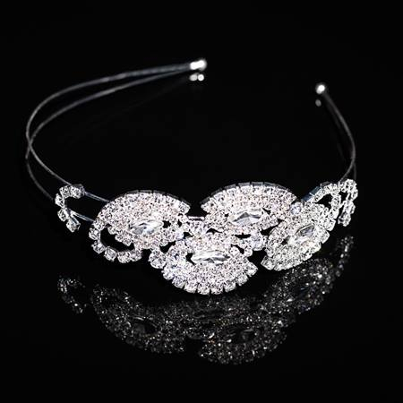 Rouge Side Headband Tiara