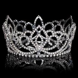 Sasha Full Crown Tiara