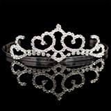 Crystal Tiara - 1 1/4 in.