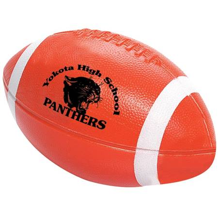 Custom Football with Stripes