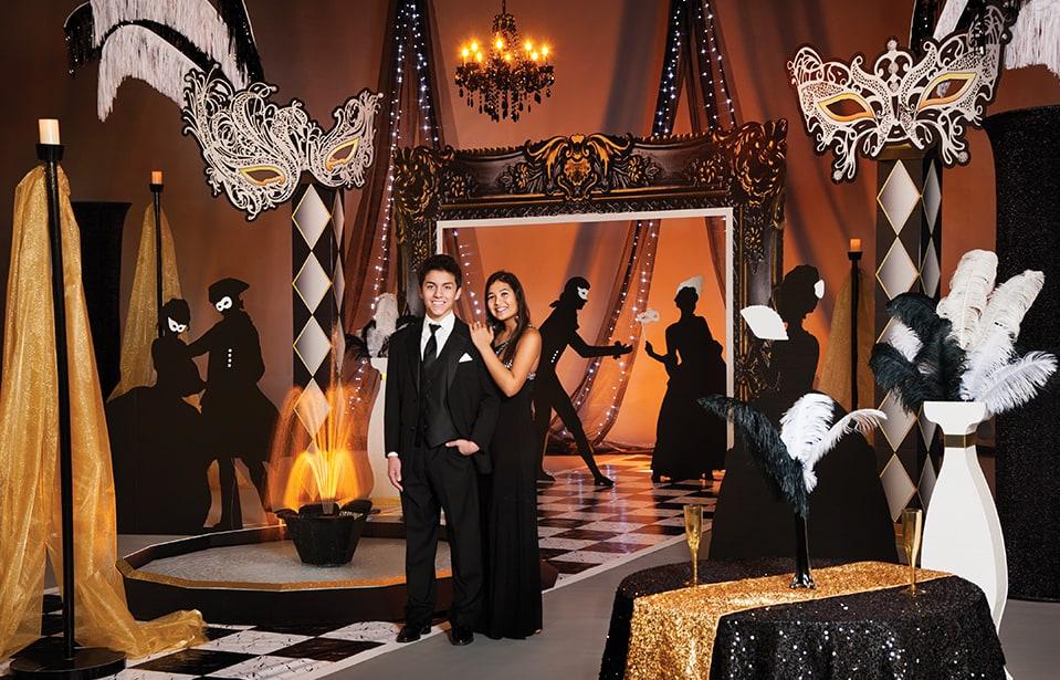Vintage Masquerade Complete Prom Theme