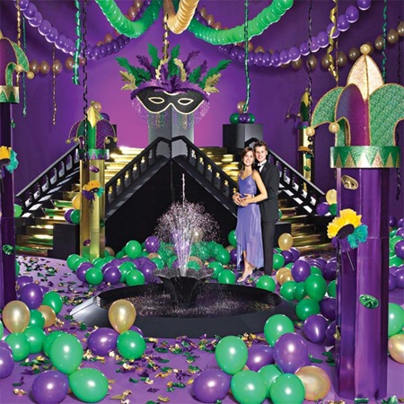 Complete Mardi Gras Masquerade | Prom Nite