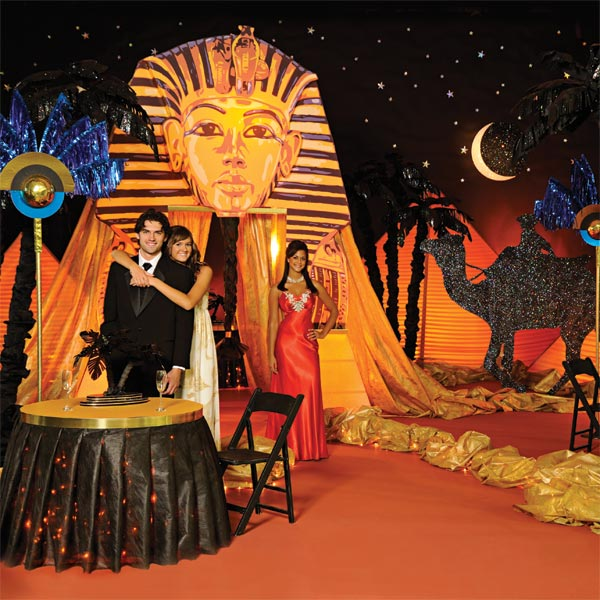Night on the Nile Complete Theme   Prom Nite