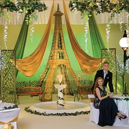 Springtime in Paris Complete Prom Theme